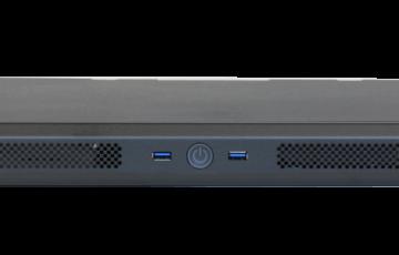 1U PC short depth Front USB3