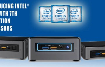 Intel 7th gen NUCs