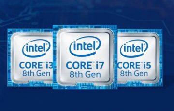 Intel 8th generation