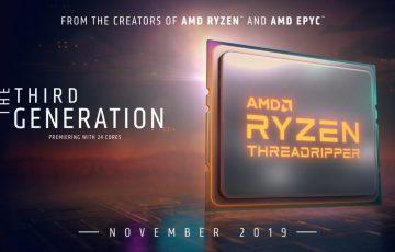 AMD Ryzen Threadripper CPUs 3rd gen
