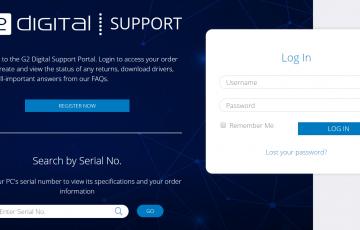 G2 Support Portal