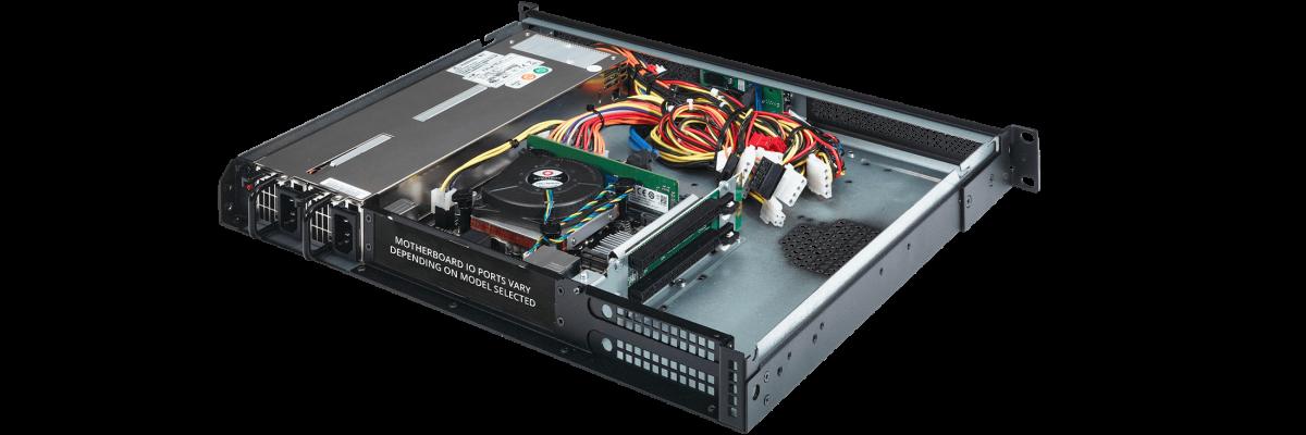 1U PC Redundant Power Supply and Dual PCIe Slots