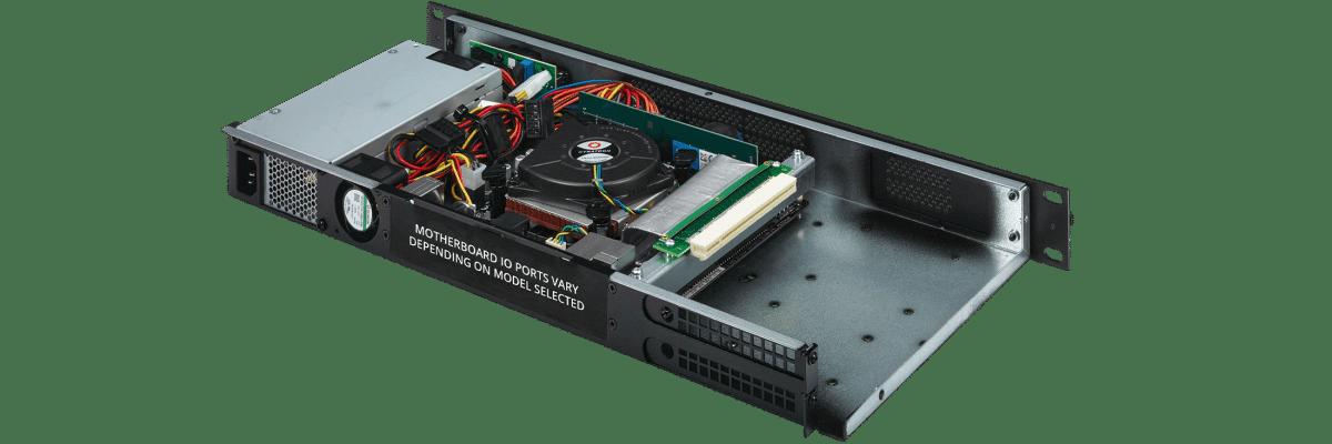 1U PCIe Dual Slot
